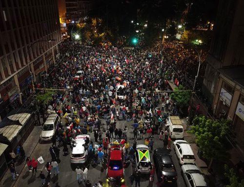 Celebración por triunfo del Apruebo en Valparaíso dejó solo un detenido